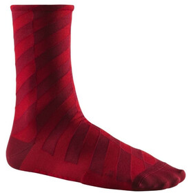 Mavic Graphic Mosaic Socks Cabernet/Red